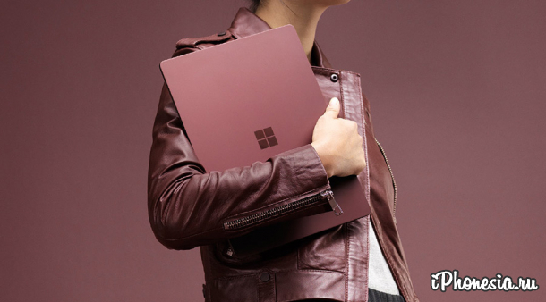 Microsoft представила ноутбук Surface Laptop